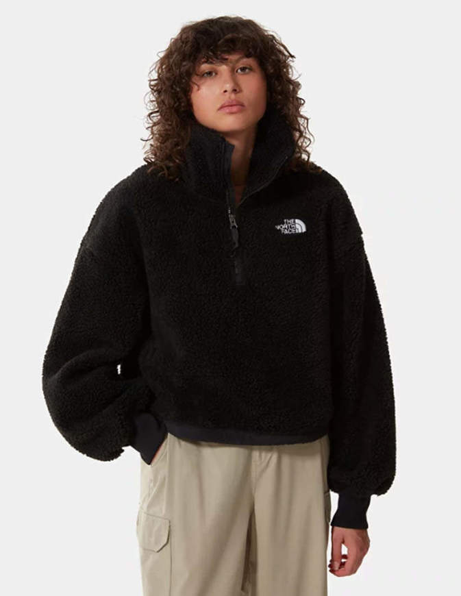 The North Face Pile Platte Sherpa Donna Nero