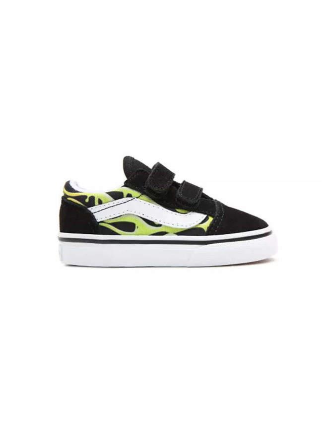 VANS Shoes Old Skool V Slime Flame