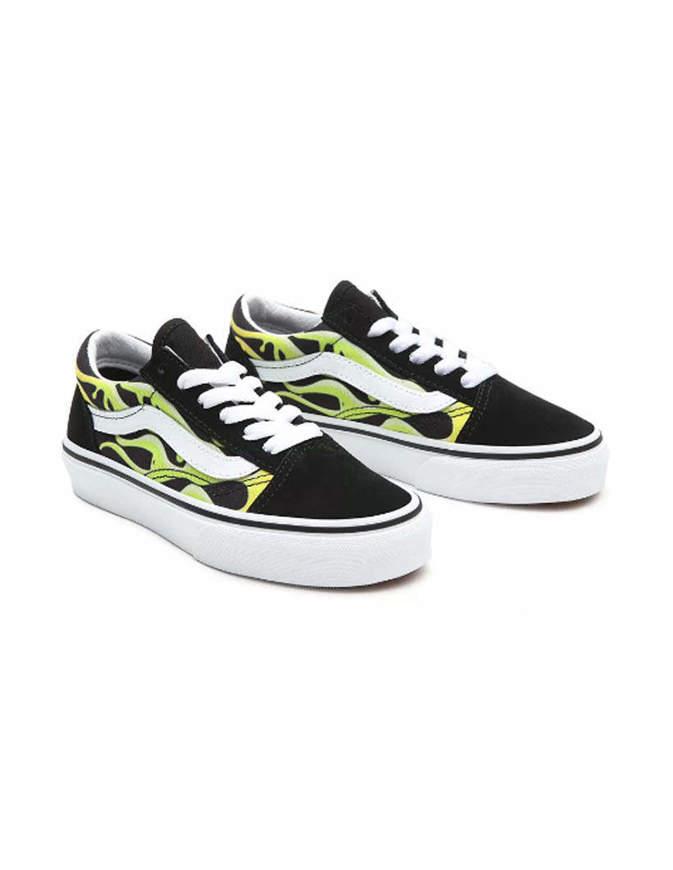 VANS Shoes Old Skool Slime Flame