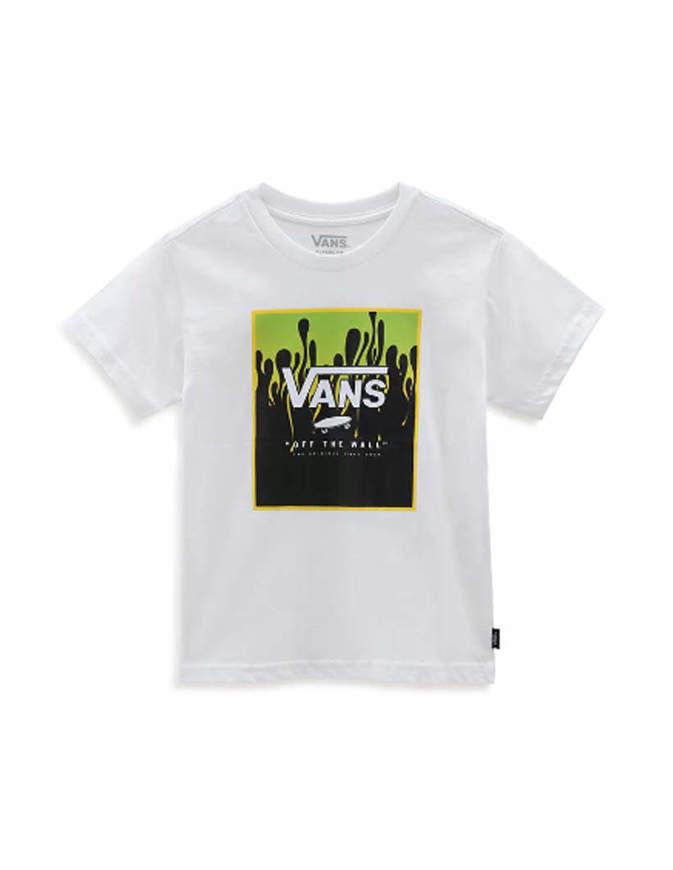 Vans T-Shirt Bambino Print Box Bianca